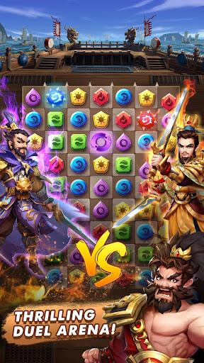 Three Kingdoms & Puzzles: Match 3 RPG 1.5.0 screenshots 3