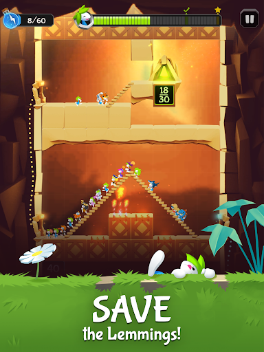 Lemmings: The Official Game - screenshot