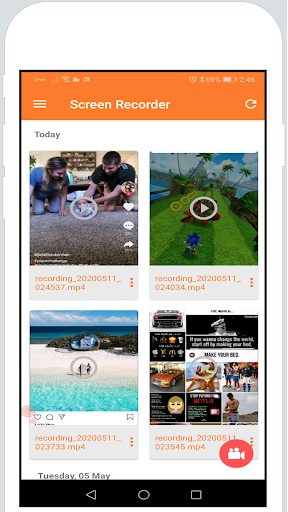 Screen Recorder & Video Recorder 1.0 screenshots 2