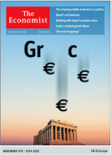 Photo: The Economist cover:  Europe edition. November 5th 2011