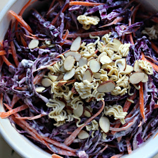 Crunchy Cabbage & Carrot Slaw.