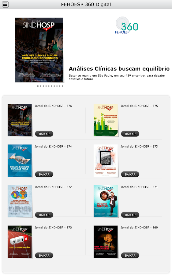 FEHOESP 360 Digital- screenshot
