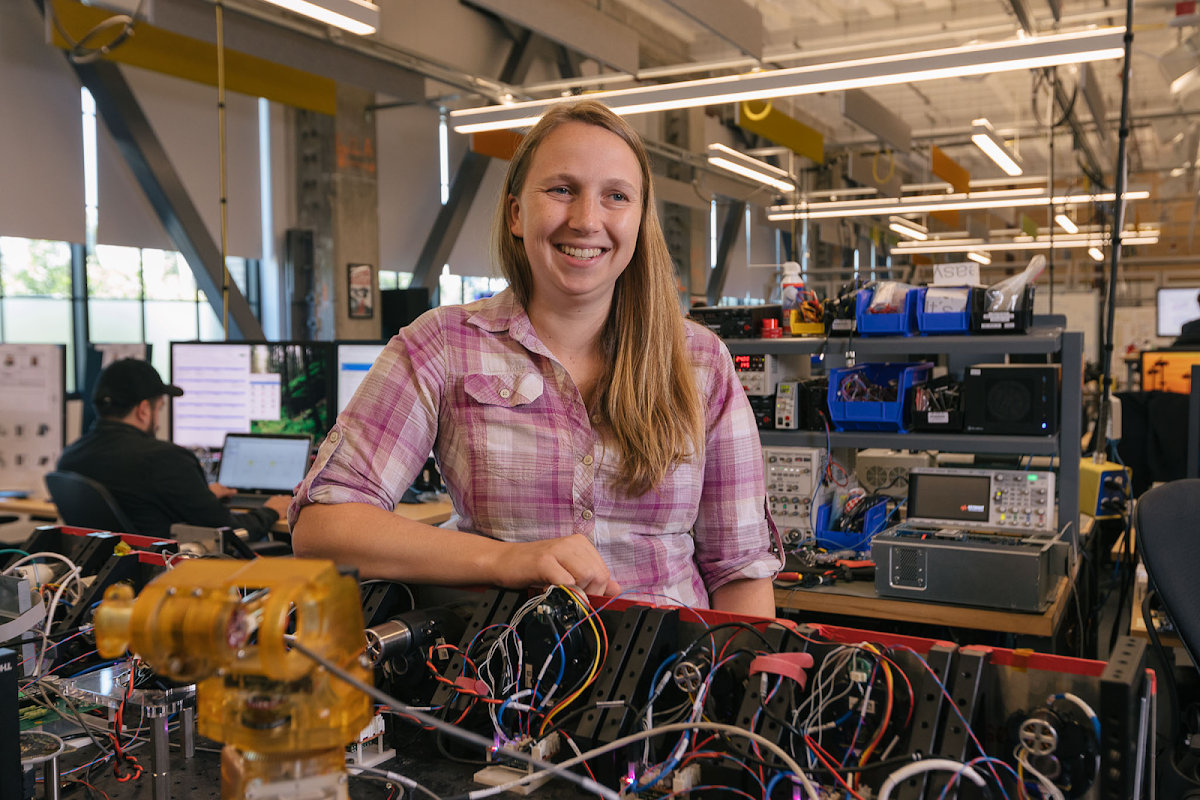 Embracing the twists and turns of a career in robotics