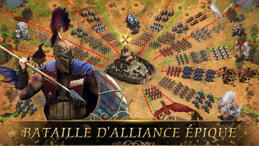 Clash of Epic War: Empire Origins  captures d'écran 5