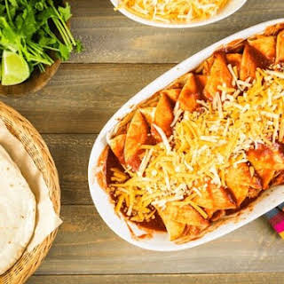 Zesty Chicken Enchiladas.