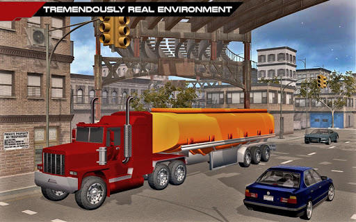 Grand City Oil Truck Driver for PC