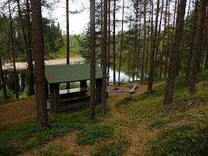 Photo: Finnish border guard station - nice picnic table!