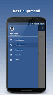 Stud.IP mobil – Miniaturansicht des Screenshots