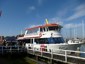 Photo: We rode this ferry boat to the village of Volendam