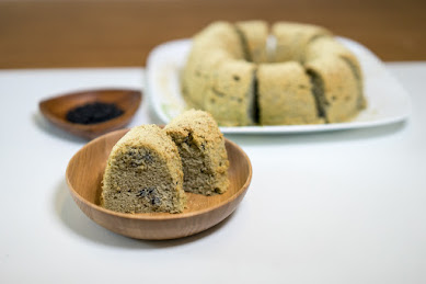 黒千石レシピ:黒千石シフォンケーキ:永井美保子の黒千石クッキング