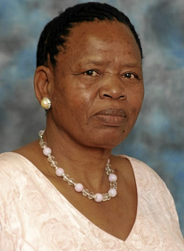 Jane Manganye, deputy speaker of the North West legislature.