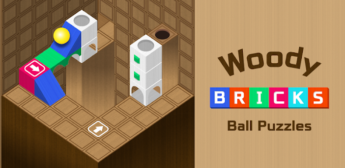Woody Bricks and Ball Puzzles - Block Puzzle Game