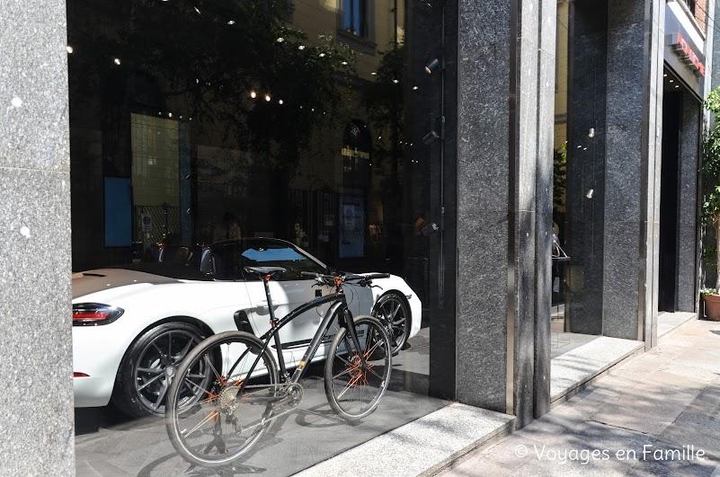 Milan, Porsche