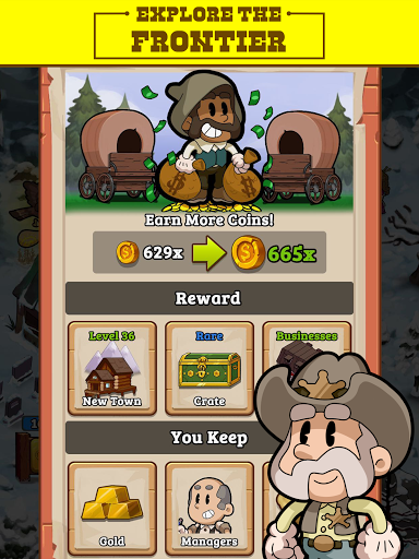 Idle Frontier: Tap Town Tycoon filehippodl screenshot 11