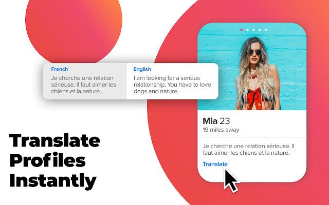 Translator for Tinder Messages & Profiles