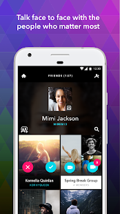 ooVoo Video Calls, Messaging & Stories- screenshot thumbnail