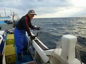 Photo: 「アンカー潮」なので胴つき釣りで真鯛ねらいます!