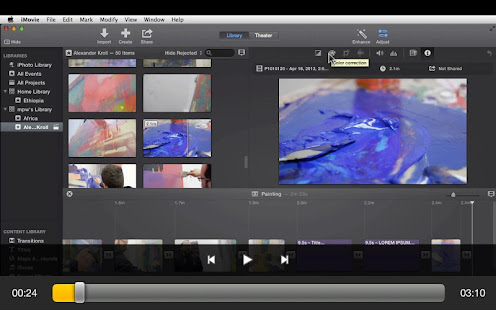 FX & Color Course For iMovie