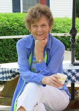 Photo: Nancy Eaton, our hostess, taking a well deserved break.