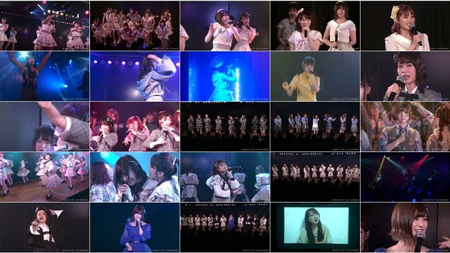 190608 (720p) AKB48 チーム8 湯浅順司「その雫は、未来へと繋がる虹になる。」公演 佐藤栞 卒業公演