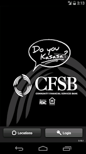 CFSB Mobile Banking - screenshot thumbnail