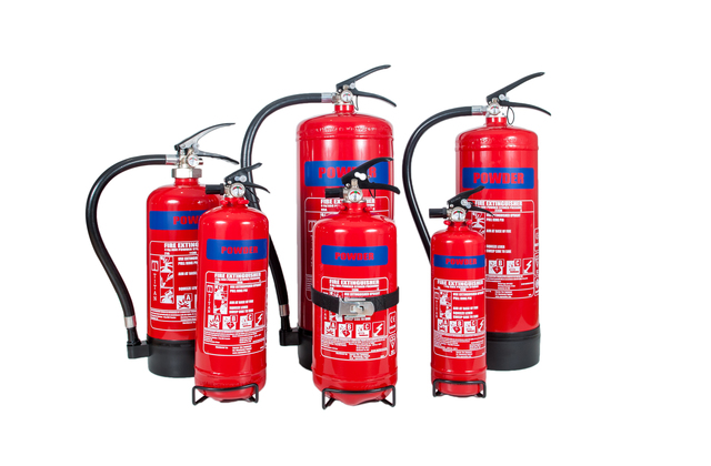 Powder Fire Extinguisher For Multiple Purposes