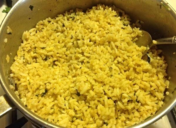 Cilantro Infused Rice Recipe
