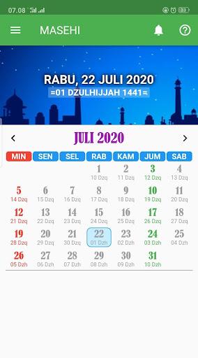 KALENDER HIJRIAH - Puasa Sunnah, Jadwal Shalat 1.2.5 screenshots 3