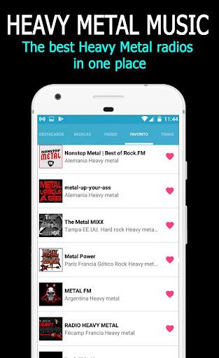 Música Heavy Metal: capturas de pantalla de Heavy Metal Radio 4