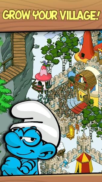 Smurfs' Village v1.49.0 (Mod Gold/Smurf Berry/Resource)