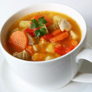 Spring Vegetable Soup.