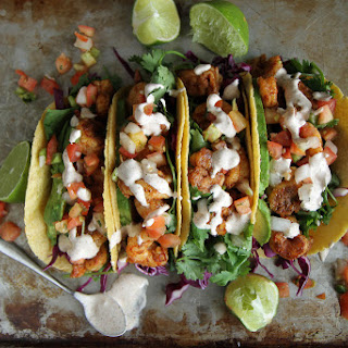 Chipotle Shrimp Tacos.