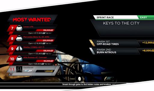 Need For Speed NFS Most Wanted Tips for PC