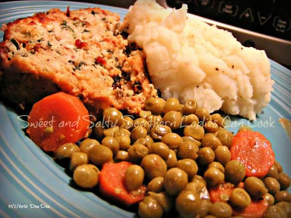 Asiago Chicken Meatloaf Florentine Recipe