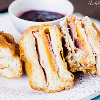 How to make a homemade deep fried Monte Cristo Sandwich