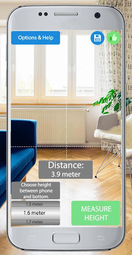 Distance Laser Meter Simulator 2.6.8 screenshots 1