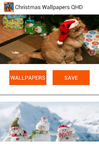 クリスマス壁紙QHD