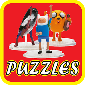 Puzzles lego adventure time