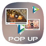Pop Up Video Player Icon