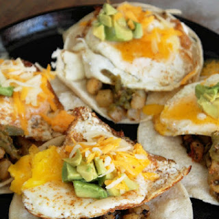 Hatch Chili Breakfast Tacos.