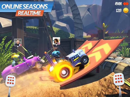 Racing Rocket : Parkour Rivals 1.0.3 screenshots 8