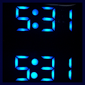 LED Clock Live Wallpaper icon
