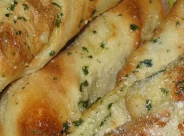 Garlic-parm Bread Sticks Recipe