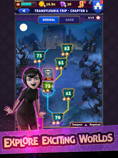 Hotel Transylvania: Monsters! - Puzzle Action Game 1.6.2 screenshots 10