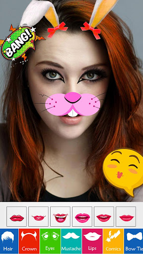 Face Stickers Photo Editor  {cheat|hack|gameplay|apk mod|resources generator} 1