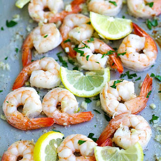 Sheet Pan Shrimp Scampi and Roasted Broccoli Recipe