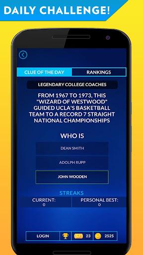 Sports Jeopardy! Screenshot