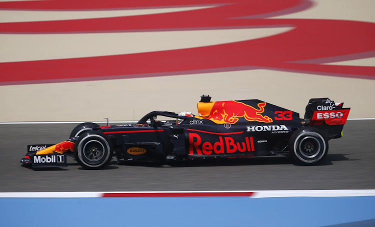 Red Bull's Max Verstappen was quickest in preseason F1 test. Picture: REUTERS