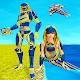 Mermaid Transforming Robot: Air Jet Robot War Game APK