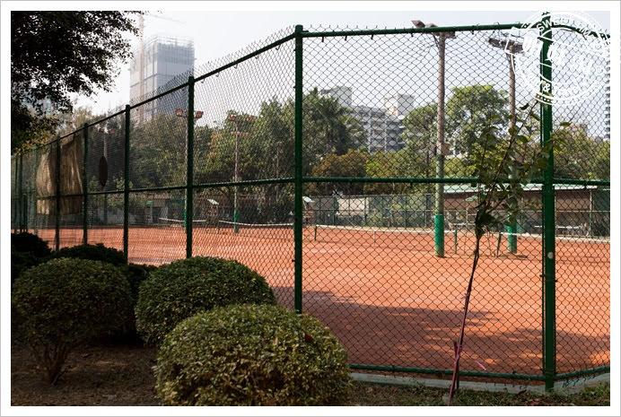 中央公園網球場